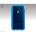 SwitchEasy Trim Blue for iPhone 4 (SW-TM4-BL)
