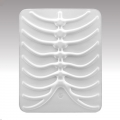 SwitchEasy RibCage White for iPad 4, iPad 3, iPad 2, iPad (SW-RCP-W)
