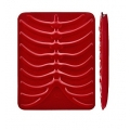 SwitchEasy RibCage Red for iPad 4, iPad 3, iPad 2, iPad (SW-RCP-R)