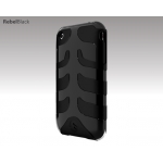 SwitchEasy Capsule Rebel Black for iPhone 3G/3GS (SW-CAP-REB-B)