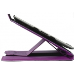 TREXTA Rotating Folio Fuchsia for iPad 2