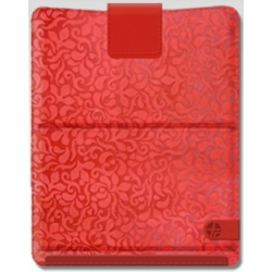 TREXTA Tryangle Leather Red for iPad 2