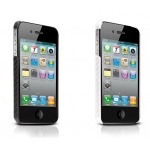 Carbon look for iPhone 4, 4S Black (IP4-CARBON-02)