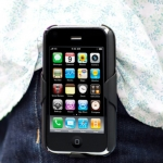 CLIPPINGHOLSTER for iPhone 3G/3GS Black (IP3G-CLIP-HO-01)