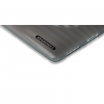 SOFTSHELL Smoke for iPad (IPAD-SOFT-SHELL-01) (with TUNEFILM protective film)