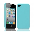 Tunewear Eggshell Blue for iPhone 4 (IP4-EGG-SHELL-06) (TUNEFILM protective film)