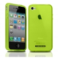 Tunewear Softshell Green for iPhone 4 (IP4-SOFT-SHELL-05)