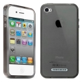 Tunewear Softshell Smoke for iPhone 4 (IP4-SOFT-SHELL-01) (TUNEFILM protective film)