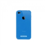 Tunewear Softshell Blue for iPhone 4 (IP4-SOFT-SHELL-03) (TUNEFILM protective film)