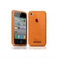 Tunewear Softshell Orange for iPhone 4 (IP4-SOFT-SHELL-06) (TUNEFILM protective film)