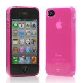 Tunewear Softshell Pink for iPhone 4 (IP4-SOFT-SHELL-02) (TUNEFILM protective film)