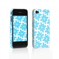 Tunewear Eggshell Finlandia Lumi Light Blue for iPhone 4 (IP4-FIN-07K)