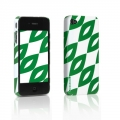 Tunewear Eggshell Finlandia Aika Green for iPhone 4 (IP4-FIN-02G)