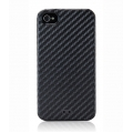 Tunewear Carbon Look Black for iPhone 4, 4S (IP4S-CARBON-02)