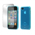 Tunewear Softshell Turquoise for iPhone 4, 4S (IP4S-SOFT-SHELL-03)