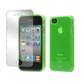 Tunewear Softshell Lime for iPhone 4, 4S (IP4S-SOFT-SHELL-05)