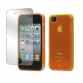 Tunewear Softshell Orange for iPhone 4, 4S (IP4S-SOFT-SHELL-06)