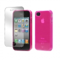 Tunewear Softshell Pink for iPhone 4, 4S (IP4S-SOFT-SHELL-02)