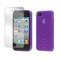 Tunewear Softshell Purple for iPhone 4, 4S (IP4S-SOFT-SHELL-04)