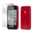 Tunewear Softshell Red for iPhone 4, 4S (IP4S-SOFT-SHELL-07)