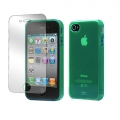 Tunewear Softshell Green for iPhone 4, 4S (IP4S-SOFT-SHELL-08)