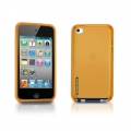 Tunewear Softshell Orange for iPod Touch 4G (TUNEFILM protective film)