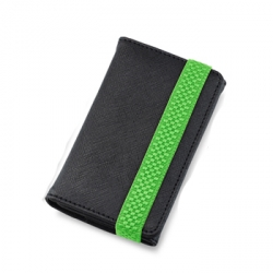 Tunewear Tunewallet Black/Green for iPod Touch 4G/3G/2G (IT4-TWL-05G)