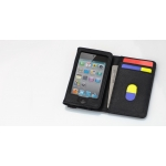 Tunewear Tunewallet Black/Orange for iPod Touch 4G/3G/2G (IT4-TWL-04O)