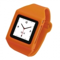 Tunewear Wrist Watch Case Orange for iPod nano 6G (NN6-WW-07)