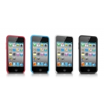 Tunewear Tuneshell Rubber Frame Black for iPod Touch 4G (IT4-TUN-SHELL-RF02)
