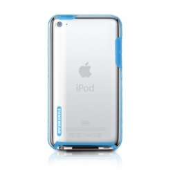Tunewear Tuneshell Rubber Frame Blue for iPod Touch 4G (IT4-TUN-SHELL-RF03)