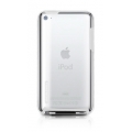 Tunewear Tuneshell Rubber Frame White for iPod Touch 4G (IT4-TUN-SHELL-RF01)