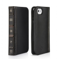 Twelvesouth Leather Case BookBook Classic Black for iPhone 5, 5S (TWS-12-1233)