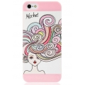 UUnique Make-Up Girl Hard Shell for iPhone 5, 5S - Pink