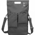 "Unit Portables Fabric Bag for Laptops with 15"" - Grey (UNIT_01_15_GREY)"