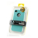 Verus Crucial Mix Twin for iPhone 4, 4S (Blue/White)