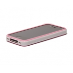 Verus Crucial Mix Twin for iPhone 4, 4S (Pink/White)