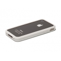 Verus Crucial Mix Bumper for iPhone 4, 4S (White/White)