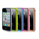 Verus Crucial Mix Bumper for iPhone 4, 4S (Black/Silver)