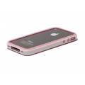 Verus Crucial Mix Bumper for iPhone 4, 4S (Pink/White)