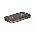 Verus Crucial Mix Bumper for iPhone 4, 4S (Black/Gold)
