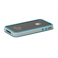 Verus Crucial Mix Bumper for iPhone 4, 4S (Blue/White)
