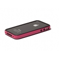 Verus Crucial Mix Bumper for iPhone 4, 4S (Black/Pink)