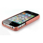 Verus Premium J+P Nubi Leather Bar for iPhone 4, 4S (Pink)