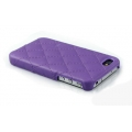 Verus Premium J+P Nubi Leather Bar for iPhone 4, 4S (Purple)