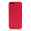 Verus Premium J Vivid ECO Leather Case for iPhone 5, 5S, Red