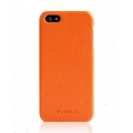 Verus Premium J Vivid ECO Leather Case for iPhone 5, 5S, Orange
