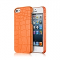 Verus Crocodile Back Case for iPhone 5, 5S - Orange