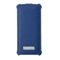 Viva Madrid Cubrir Poni PU Leather Case for iPhone 5, 5S, Navy Blue (VIVA-IP5CBR-PNIBLU)