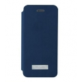 Viva Madrid Sabio Poni PU Leather Case for iPhone 5, 5S, Navy Blue (VIVA-IP5SBO-PNIBLU)
